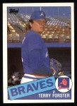 1985 Topps #248  Terry Forster  Front Thumbnail