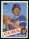 1985 Topps #563  Dick Ruthven  Front Thumbnail