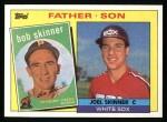 1985 Topps #139  Bob Skinner / Joel Skinner  Front Thumbnail