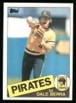 1985 Topps #305  Dale Berra  Front Thumbnail