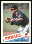 1985 Topps #425  Mike Hargrove  Front Thumbnail