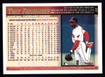 1998 Topps #58  Tony Fernandez  Back Thumbnail