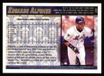 1998 Topps #89  Edgardo Alfonzo  Back Thumbnail