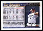 1998 Topps #244  Tim Belcher  Back Thumbnail