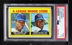 1967 Topps #569   -  Rod Carew / Hank Allen A.L. Rookies Front Thumbnail
