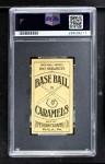 1909 E90-1 American Caramel  Hal Chase  Back Thumbnail