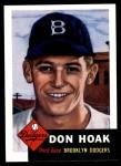 1953 Topps Archives #176  Don Hoak  Front Thumbnail