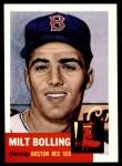 1953 Topps Archives #280  Milt Bolling  Front Thumbnail