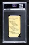 1909 E102  Germany Schaefer  Back Thumbnail