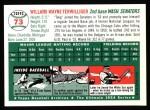 1954 Topps Archives #73  Wayne Terwilliger  Back Thumbnail
