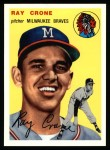 1954 Topps Archives #206  Ray Crone  Front Thumbnail