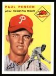 1954 Topps Archives #236  Paul Penson  Front Thumbnail
