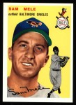 1954 Topps Archives #240  Sam Mele  Front Thumbnail