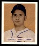 1949 Bowman REPRINT #141  Tony Lupien  Front Thumbnail