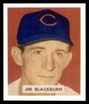 1949 Bowman REPRINT #160  Jim Blackburn  Front Thumbnail