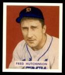 1949 Bowman REPRINT #196  Fred Hutchinson  Front Thumbnail