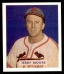1949 Bowman REPRINT #174  Terry Moore  Front Thumbnail