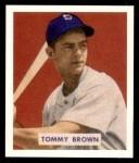 1949 Bowman REPRINT #178  Tom Brown  Front Thumbnail