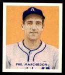 1949 Bowman REPRINT #187  Phil Markhildon  Front Thumbnail