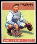1933 Goudey Reprint #152  Zack Taylor  Front Thumbnail