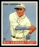 1933 Goudey Reprint #133  Freddy Lindstrom  Front Thumbnail