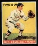 1933 Goudey Reprint #30  Frank Hogan  Front Thumbnail