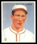 1933 Goudey Reprint #209  Dolf Luque  Front Thumbnail