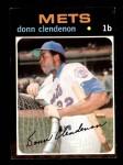 1971 Topps #115  Donn Clendenon  Front Thumbnail