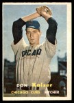 1957 Topps #134  Don Kaiser  Front Thumbnail