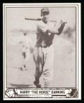 1940 Play Ball Reprint #93  Harry Danning  Front Thumbnail