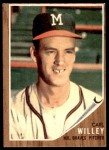 1962 Topps #174 CAP Carl Willey  Front Thumbnail