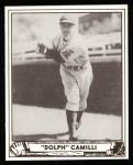 1940 Play Ball Reprint #68  Dolph Camilli  Front Thumbnail