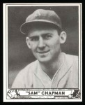 1940 Play Ball Reprint #194  Sam Chapman  Front Thumbnail