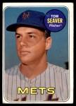 1969 Topps #480  Tom Seaver  Front Thumbnail