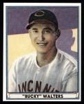 1941 Play Ball Reprint #3  Bucky Walters  Front Thumbnail