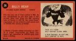 1964 Topps #38  Billy Reay  Back Thumbnail