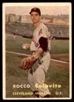 1957 Topps #212  Rocky Colavito  Front Thumbnail