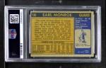 1971 Topps #130  Earl Monroe  Back Thumbnail