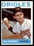1964 Topps #540  Luis Aparicio  Front Thumbnail