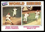 1977 Topps #412   -  Johnny Bench 1976 World Series Front Thumbnail
