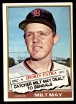 1976 Topps Traded #532 T Milt May  Front Thumbnail
