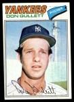 1977 Topps #15  Don Gullett  Front Thumbnail