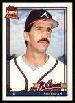 1991 Topps Traded #13 T Sid Bream  Front Thumbnail
