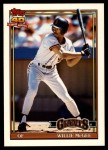 1991 Topps Traded #76 T Willie McGee  Front Thumbnail