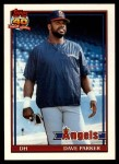 1991 Topps Traded #89 T Dave Parker  Front Thumbnail
