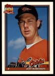 1991 Topps Traded #100 T Jeff M. Robinson  Front Thumbnail