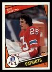 1984 Topps #141  Rick Sanford  Front Thumbnail