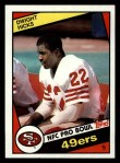 1984 Topps #356  Dwight Hicks  Front Thumbnail