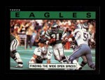 1985 Topps #125   -  Wilbert Montgomery / John Spagnola / Ray Ellis / Greg Brown / Jerry Robinson Eagles Leaders Front Thumbnail