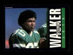 1985 Topps #350  Wesley Walker  Front Thumbnail